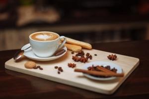 葦原瑞穂さんとコーヒー